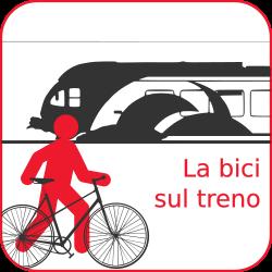 Caricare una bici sul treno